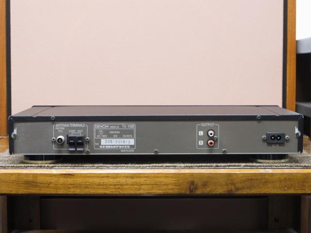 TU-1500 DENON 画像