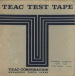 TEAC TEST TAPE(62801)