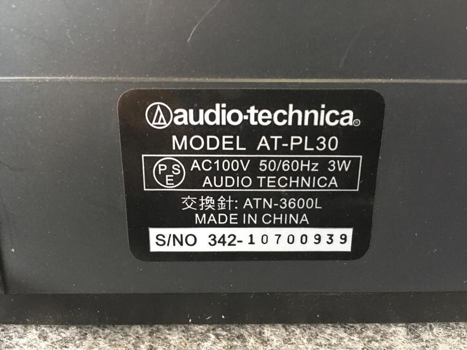 AT-PL30 audio-technica 画像