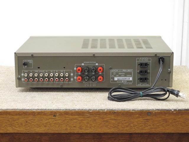 PMA-390/4 DENON 画像