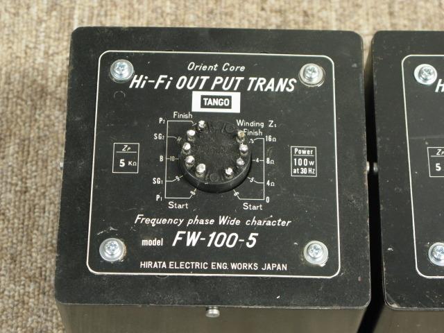 FW-100-5  (一個) TANGO 画像