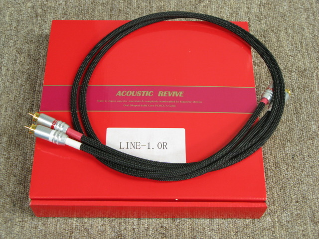 LINE-1.0R/1.0m ACOUSTIC REVIVE 画像