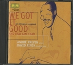 "TAKE THE ""A"" TRAIN -AN ELLINGTON SONGBOOK/ANDRE PREVIN & DAVID FINCK"