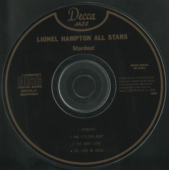 STAR DUST/LIONEL HAMPTON LIONEL HAMPTON 画像