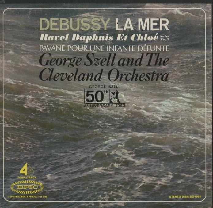 ドビュッシー:海/ラヴェル:バレエ音楽「ダフニスとクロエ」第2組曲、亡き王女のためのパヴァーヌ ドビュッシー/ラヴェル 画像