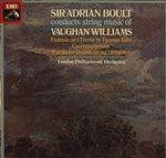 ヴォーン・ウィリアムズ:トマス・タリスの主題による幻想曲、合奏協奏曲、二重弦楽合奏パルティータ