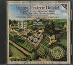 ヘンデル:合奏協奏曲「アレクサンダーの響宴」、5声のソナタ、オーボエ協奏曲第1番〜3番