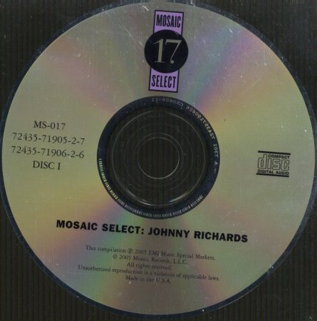 MOSAIC SELECT/JOHNNY RICHARDS  画像