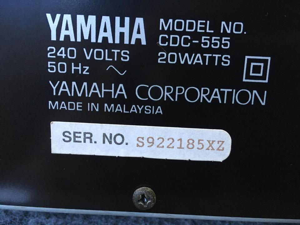 CDC-555 YAMAHA 画像