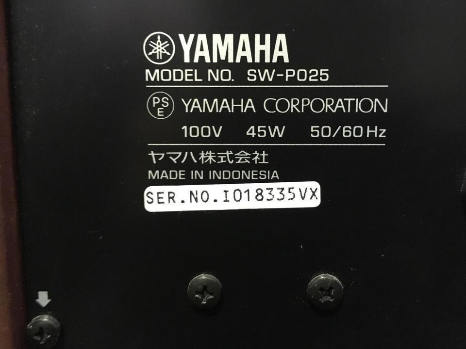 SW-P025 YAMAHA 画像