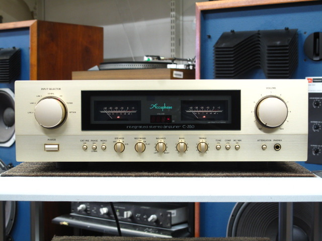 E-260 Accuphase 画像