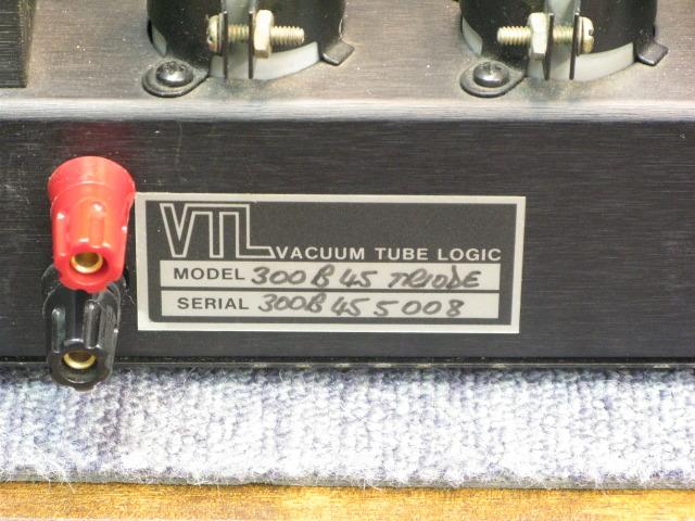 300B 45 TRIODE VTL - HiFi-Do McIntosh/JBL/audio-technica/Jeff
