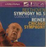 ベートーヴェン:交響曲第5番「運命」、序曲「コリオラン」