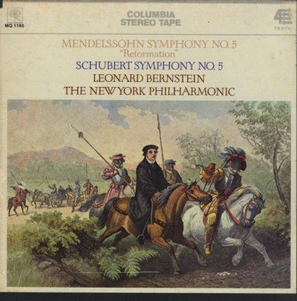 メンデルスゾーン:交響曲第5番「宗教改革」/シューベルト:交響曲第5番  画像