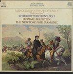 メンデルスゾーン:交響曲第5番「宗教改革」/シューベルト:交響曲第5番