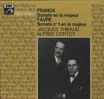 フランク:ヴァイオリン・ソナタ/フォーレ:ヴァイオリン・ソナタ第1番