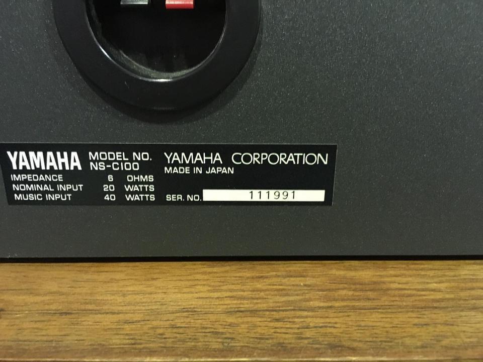NS-C100 YAMAHA 画像