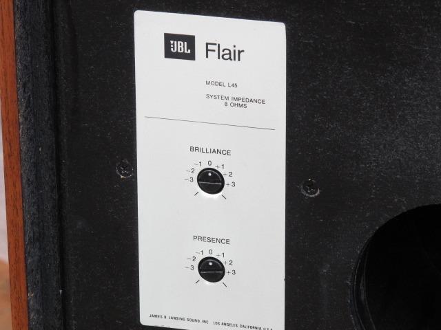 L45 FLAIR JBL - HiFi-Do McIntosh/JBL/audio-technica/Jeff