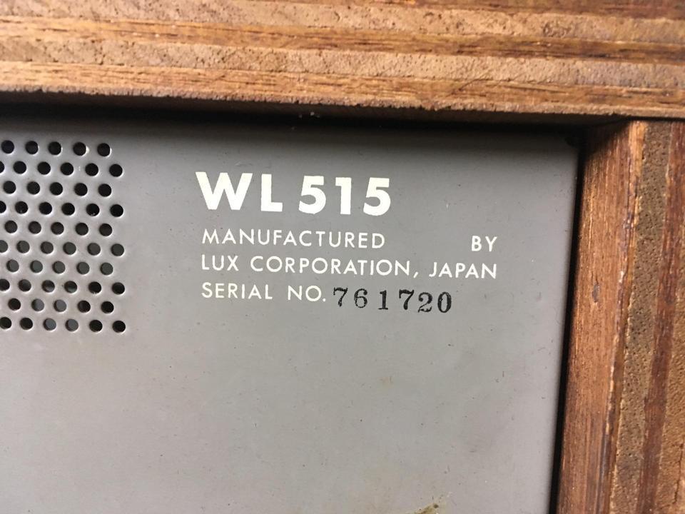 WL515 LUXMAN 画像