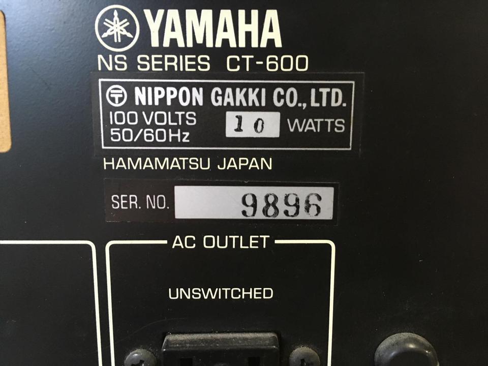 CT-600 YAMAHA 画像