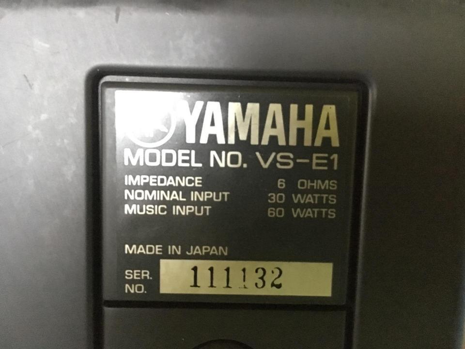 VS-E1 YAMAHA 画像
