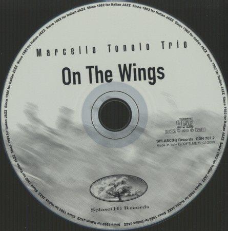 ON THE WINGS/MARCELLO TONOLO TRIO MARCELLO TONOLO 画像