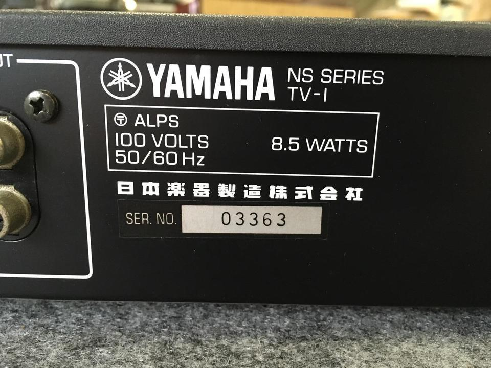 TV-1 YAMAHA 画像
