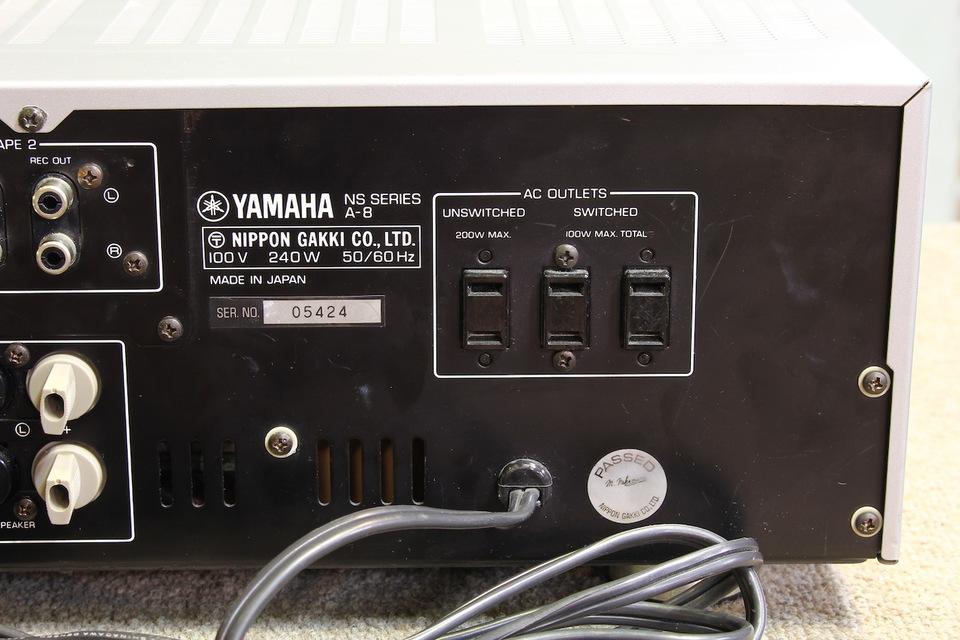 A-8 YAMAHA 画像