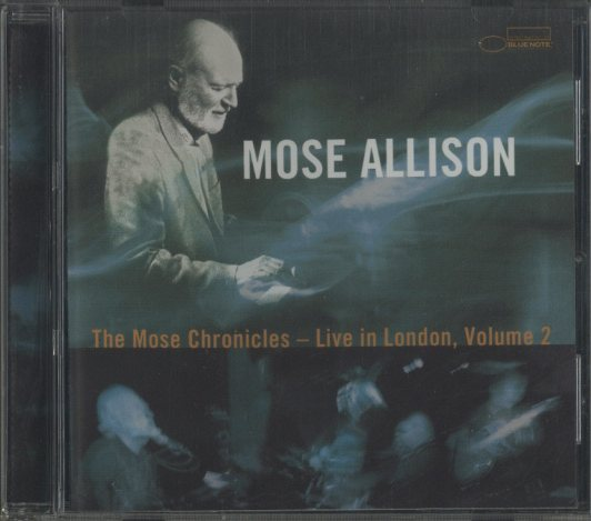 THE MOSE CHRONICLES-LIVE IN LONDON VOLUME2/MOSE ALLISON MOSE ALLISON 画像