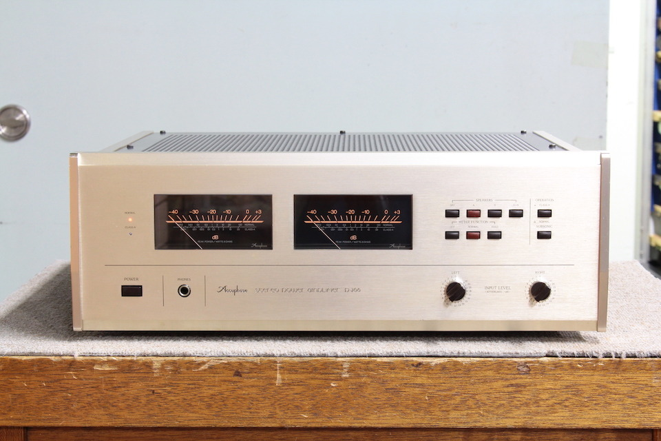 P-266 Accuphase アキュフェーズ パワーアンプ(トランジスター) 画像a