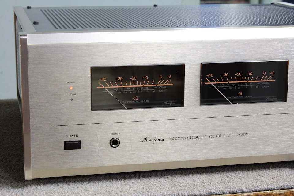 P-266 Accuphase アキュフェーズ パワーアンプ(トランジスター) 画像d