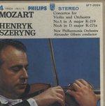 モーツァルト:ヴァイオリン協奏曲第5、6番