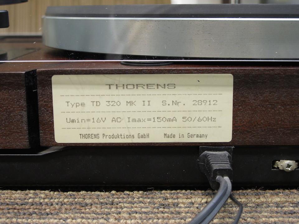 TD-320MK2+3009RB THORENS 画像