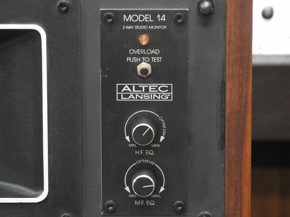 MODEL 14 ALTEC - 中古オーディオ 高価買取・販売 ハイファイ堂