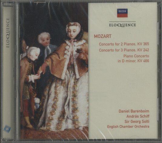 モーツァルト:2台のピアノのため...