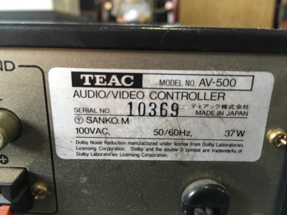 AV-500 TEAC 画像