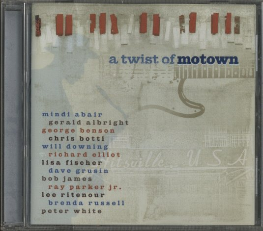 A TWIST OF MOTOWN/LEE RITENOUR LEE RITENOUR 画像