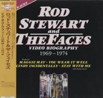 ROD STEWART AND THE FACES VIDEO BIOGRAPHY 1969-1974