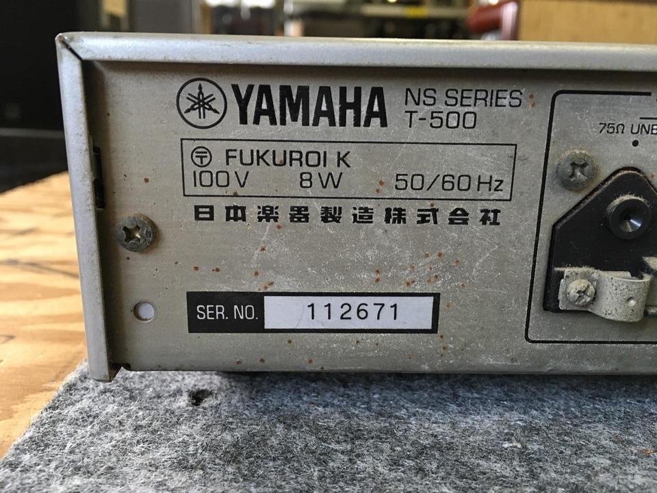 T-500 YAMAHA 画像