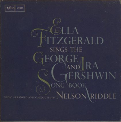 ELLA FITZGERALD SINGS THE GEORGE AND IRA GERSHWIN SONG BOOK  画像