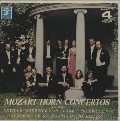 モーツァルト:ホルン協奏曲(全6曲)  画像