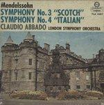 メンデルスゾーン:交響曲第3番「スコットランド」、交響曲第4番「イタリア」