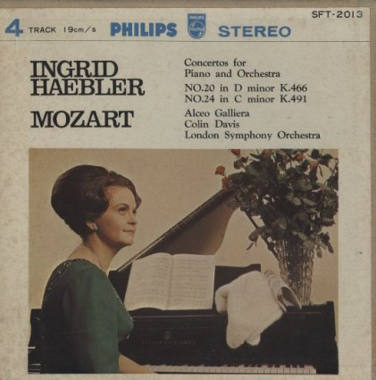 モーツァルト:ピアノ協奏曲第20番、第24番  画像