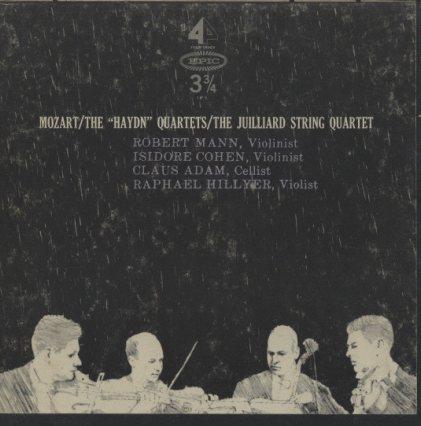 モーツァルト:弦楽四重奏曲集「ハイドン・セット」  画像
