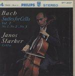 J.S.バッハ:無伴奏チェロ組曲全曲 第1集/第2集