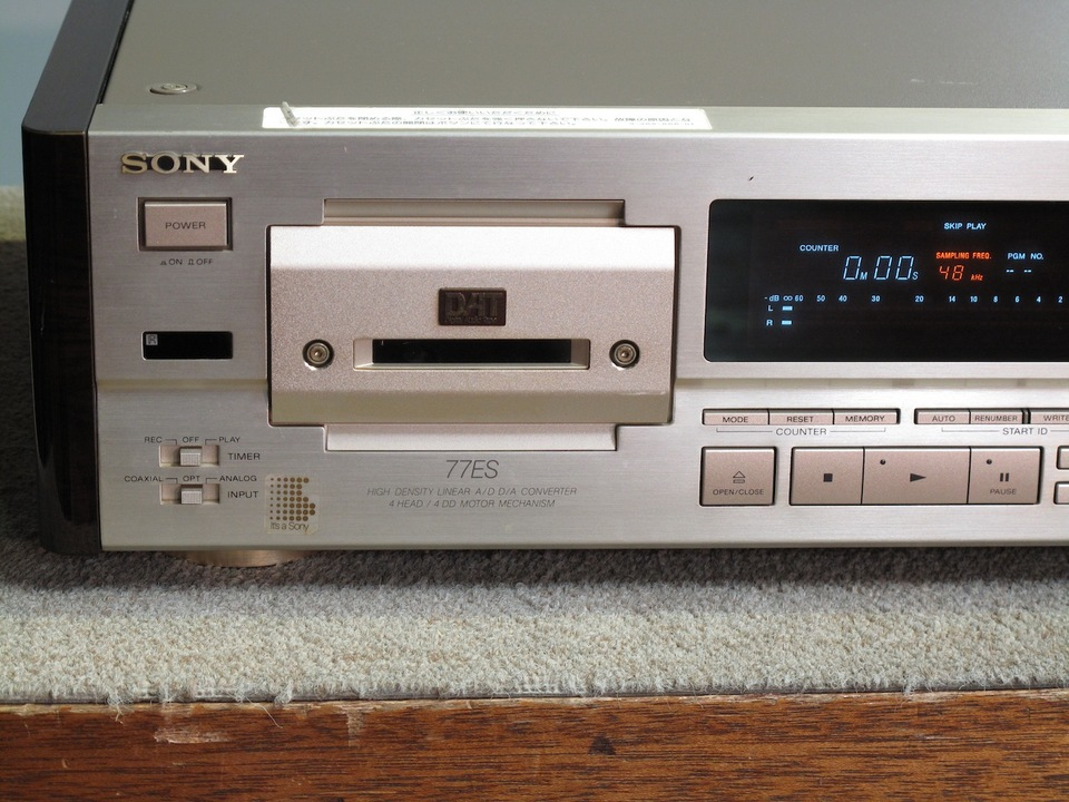 DTC-77ES SONY - HiFi-Do McIntosh/JBL/audio-technica/Jeff