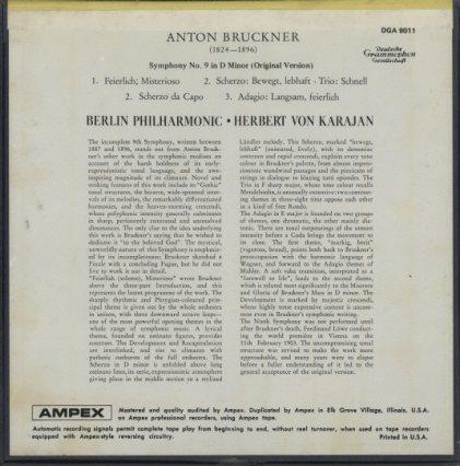ブルックナー:交響曲第9番 ブルックナー 画像
