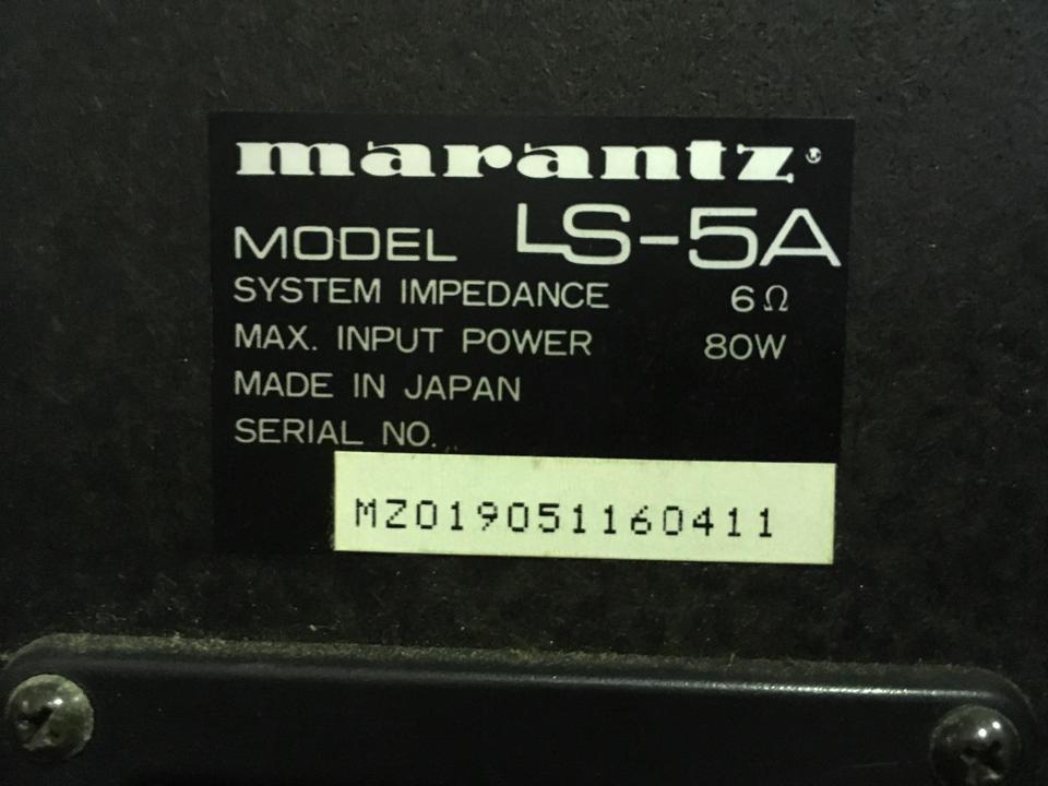 LS-5A marantz 画像