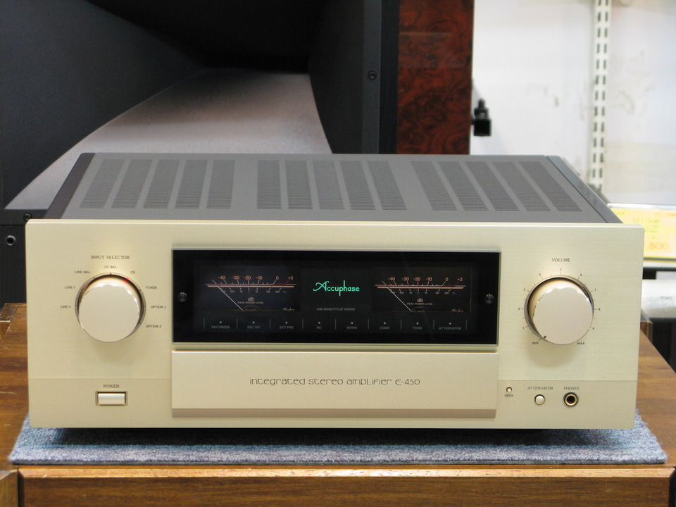 Accuphase E-450の買取価格 相場以上でオーディオ買取|名古屋|秋葉原|大阪|日本橋|福岡|東京 画像a
