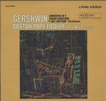 ガーシュイン:ピアノ協奏曲、アイ・ガット・リズム(ピアノとオーケストラのための変奏曲)、キューバ序曲